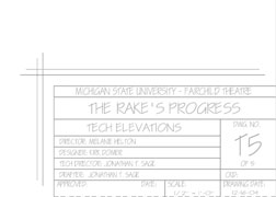 Tech Drafting Plate - T05 (PDF)